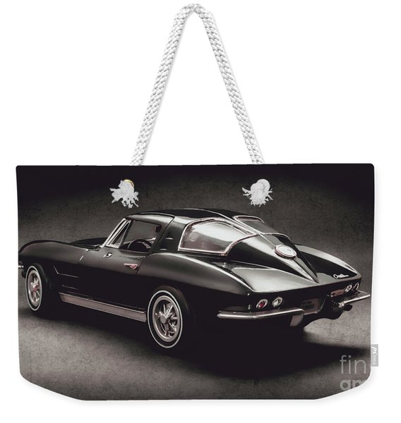 63 Chevrolet Corvette Stingray Weekender Tote Bag