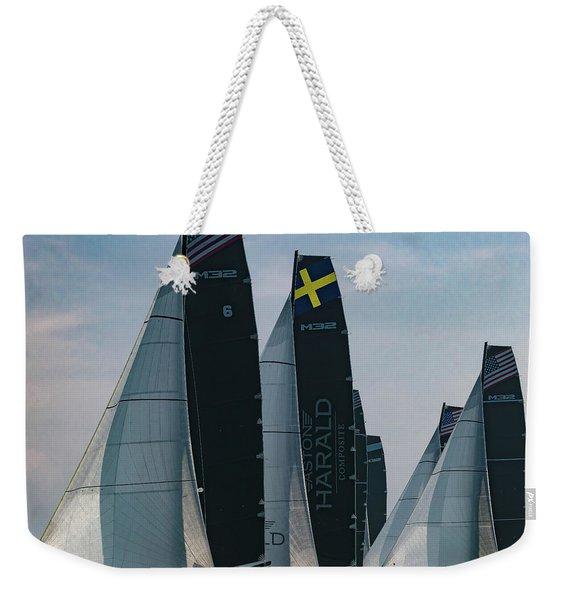 M32 Chicago Weekender Tote Bag