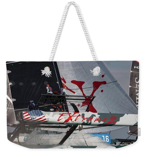 Extreme 2 Weekender Tote Bag