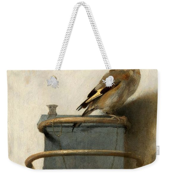 The Goldfinch Weekender Tote Bag