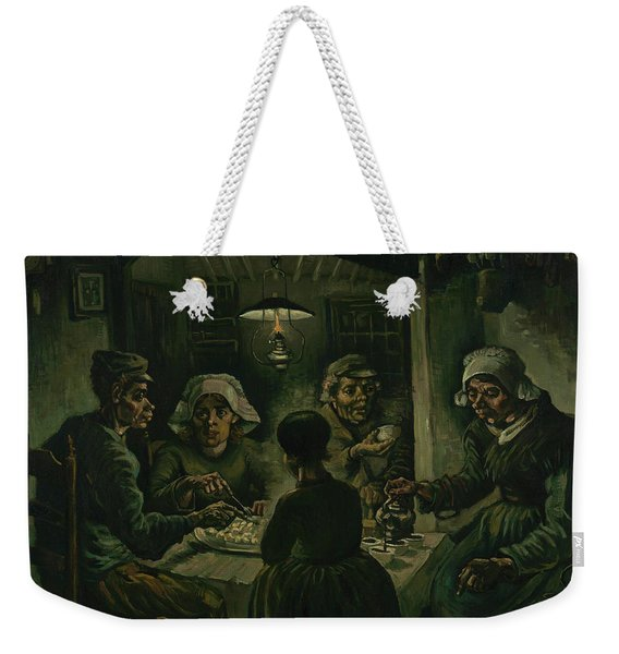 The Potato Eaters Weekender Tote Bag