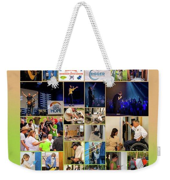 8doh1415 Weekender Tote Bag