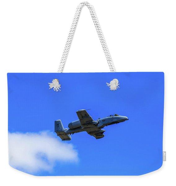 A-10c Thunderbolt II In Flight Weekender Tote Bag