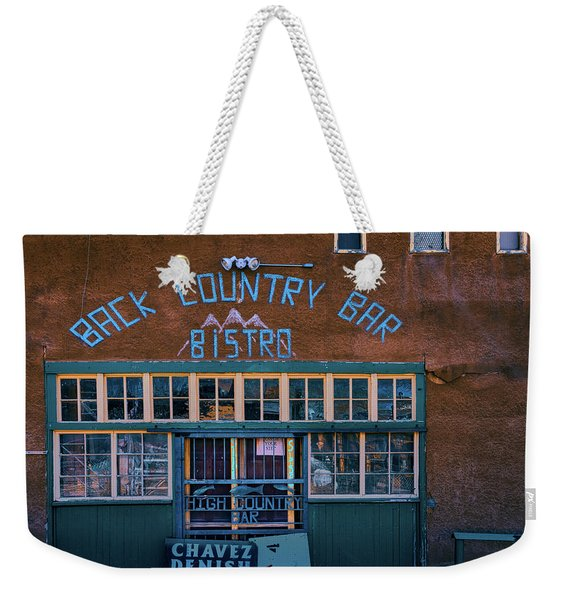 A Bar With Two Names Weekender Tote Bag