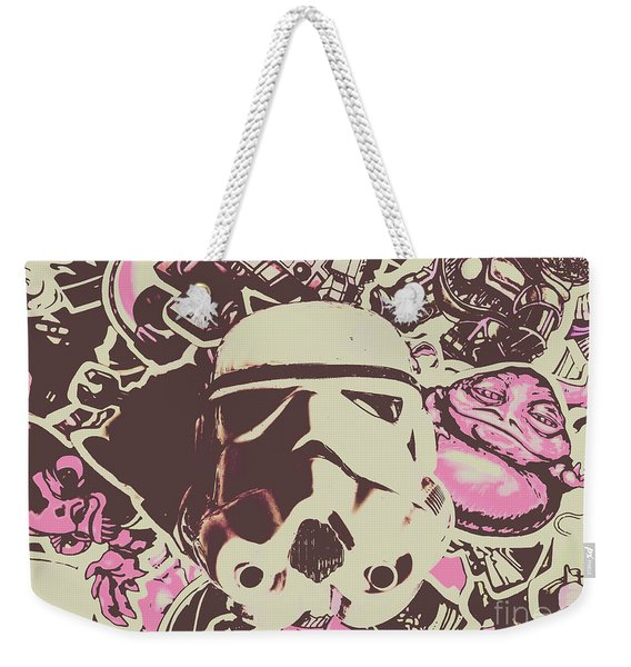 A Battle Storm Weekender Tote Bag