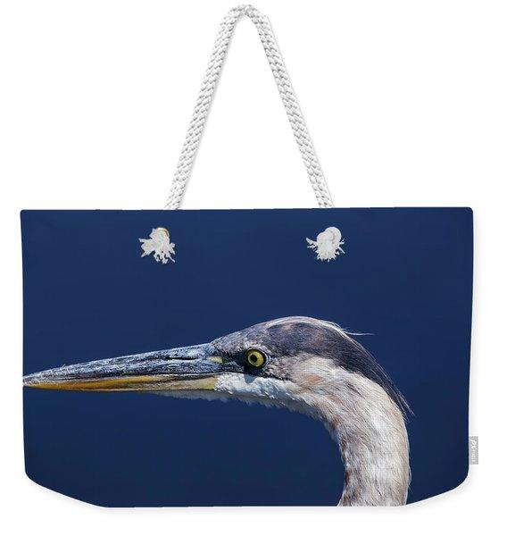 A Blue Portrait Weekender Tote Bag
