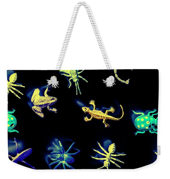A Bugs Still Life Weekender Tote Bag