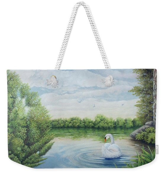 A Call To Rest Weekender Tote Bag