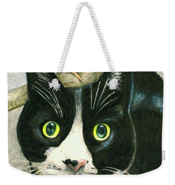 A Cat Named Sparrow Weekender Tote Bag