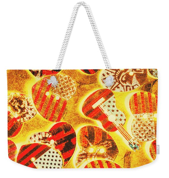 A Country Concerto Weekender Tote Bag