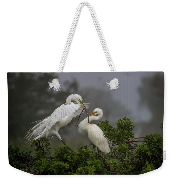 A Couple Of Birds Weekender Tote Bag