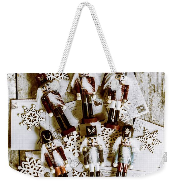 A Cracker Christmas Weekender Tote Bag
