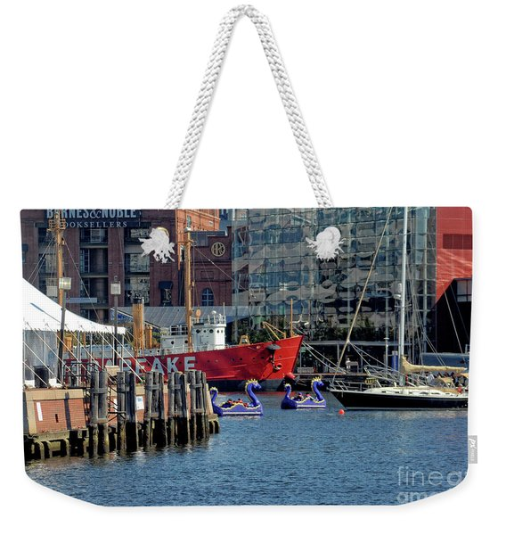 A Day At The Inner Harbor Weekender Tote Bag