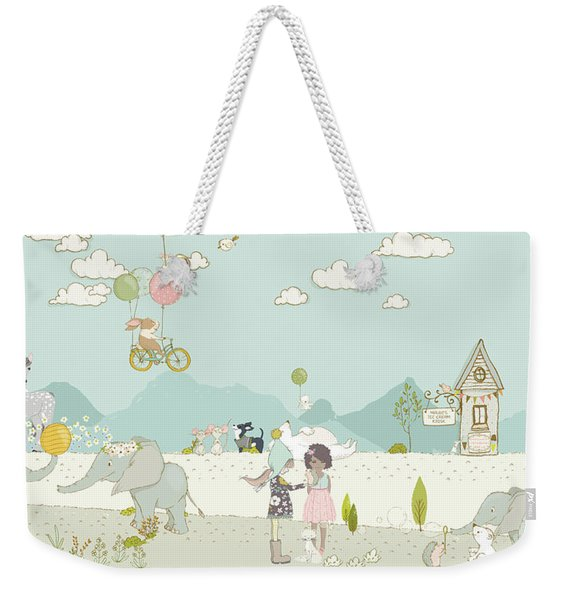A Day At The Park Weekender Tote Bag