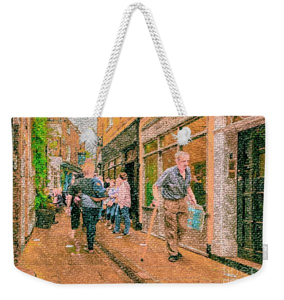 A Day At The Shops Weekender Tote Bag