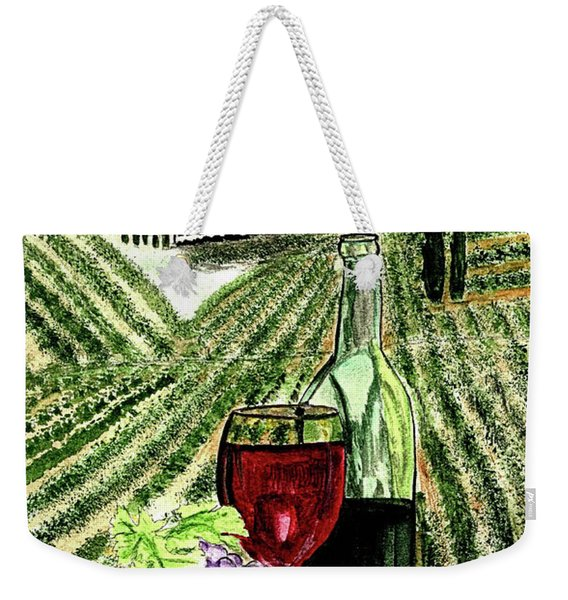 A Day At The Vineyards Weekender Tote Bag