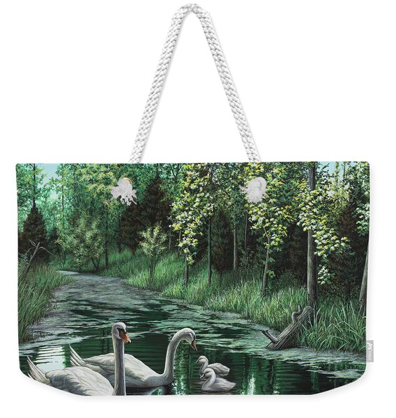 A Day Out Weekender Tote Bag