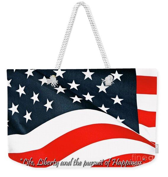 A Declaration Weekender Tote Bag