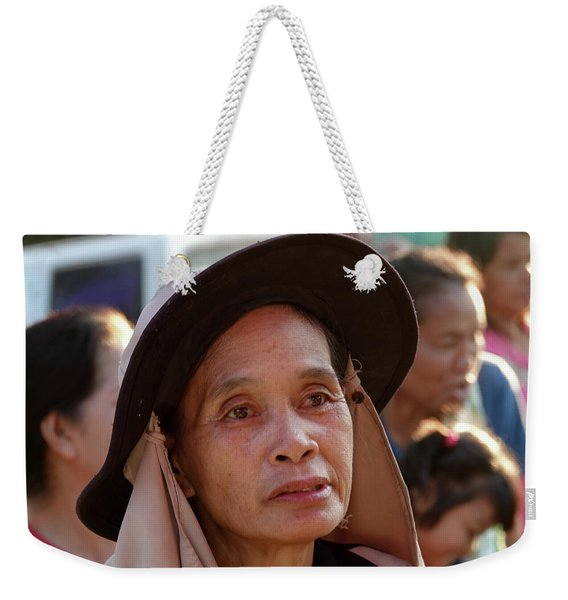 A Face Of Life Weekender Tote Bag
