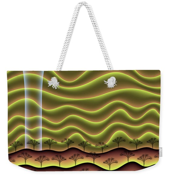 A Faint Glow On The Horizon Weekender Tote Bag