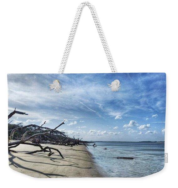 A Fine Line Weekender Tote Bag