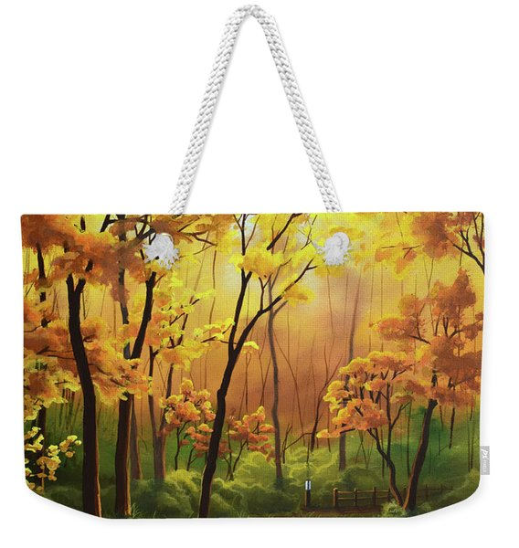 A Forgotten Trail Weekender Tote Bag