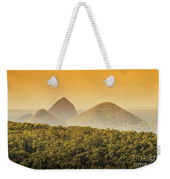 A Glowing Afternoon Weekender Tote Bag
