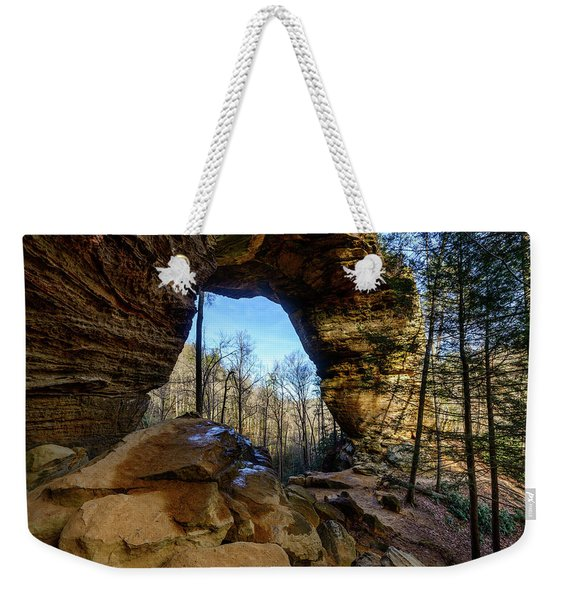 A Hole In Time Weekender Tote Bag