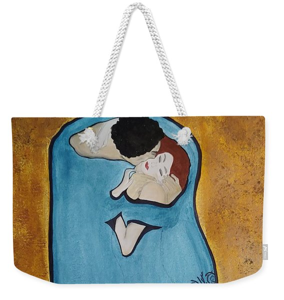 A Kiss From The Heart Weekender Tote Bag