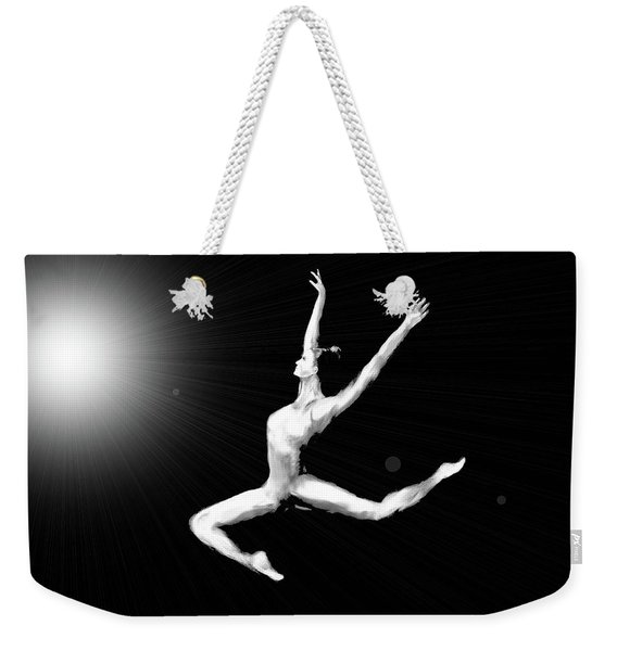A Leap Into The Light Weekender Tote Bag
