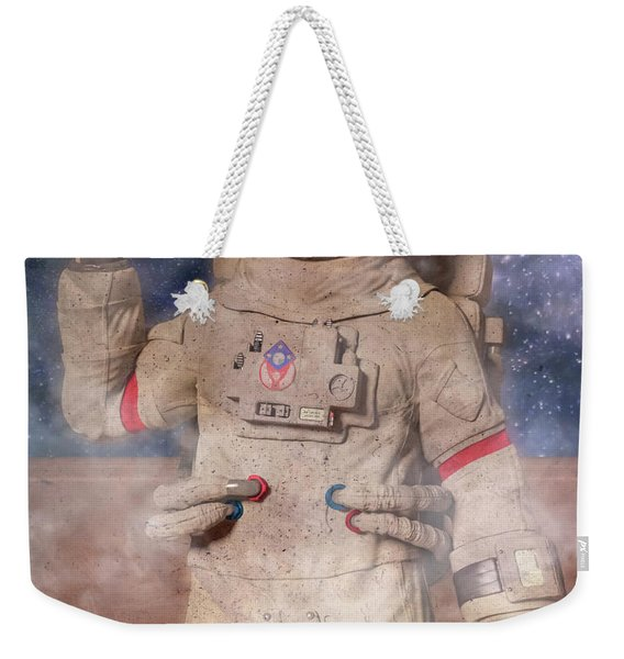 A Lifetime And Beyond Astronaut  Weekender Tote Bag