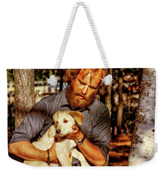 A Man And His Dog 2 Weekender Tote Bag