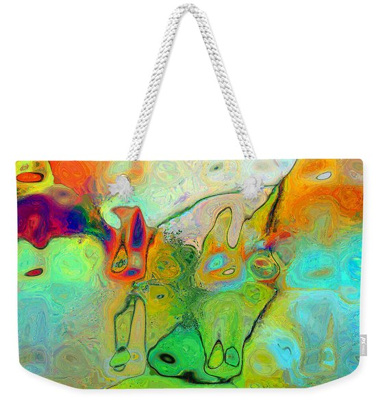 A Message For Miro Weekender Tote Bag