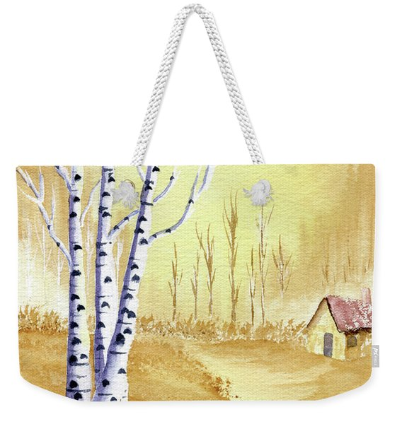Weekender Tote Bag featuring the painting A New Day by Rich Stedman