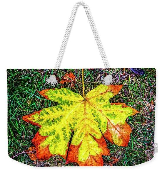 A New Leaf Weekender Tote Bag
