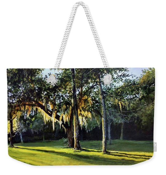 A New Sunset Weekender Tote Bag