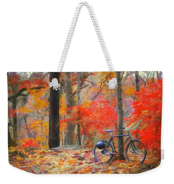 A Nice Place To Stop Weekender Tote Bag