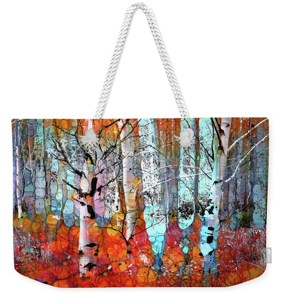 A Party In The Forest Weekender Tote Bag