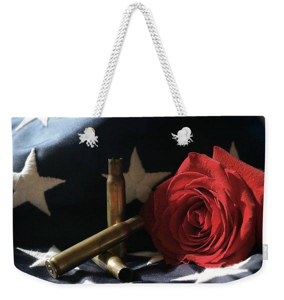 A Patriots Passing Weekender Tote Bag