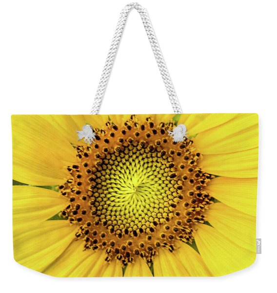 A Perfect Sunflower Weekender Tote Bag