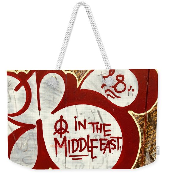 A Plea For Peace In The Middle East  Weekender Tote Bag