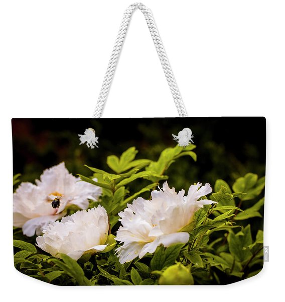 A Pollinator's Work Is Never Done Weekender Tote Bag