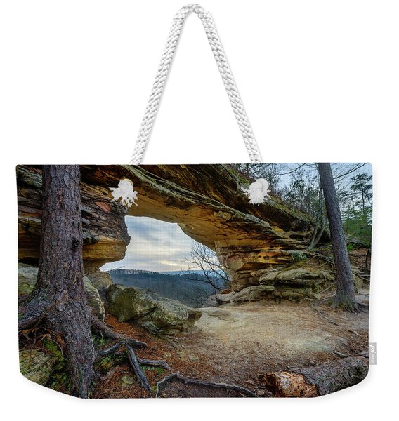 A Portal Through Time Weekender Tote Bag