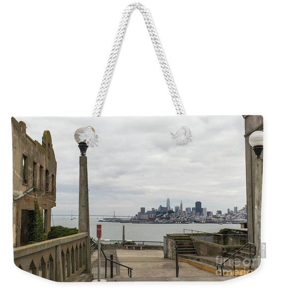 A Prison With A View Weekender Tote Bag