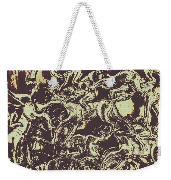 A Punters Mixed Bag Weekender Tote Bag