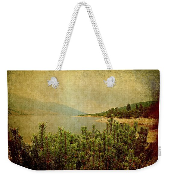 A Quiet Moment Before Storm... Weekender Tote Bag
