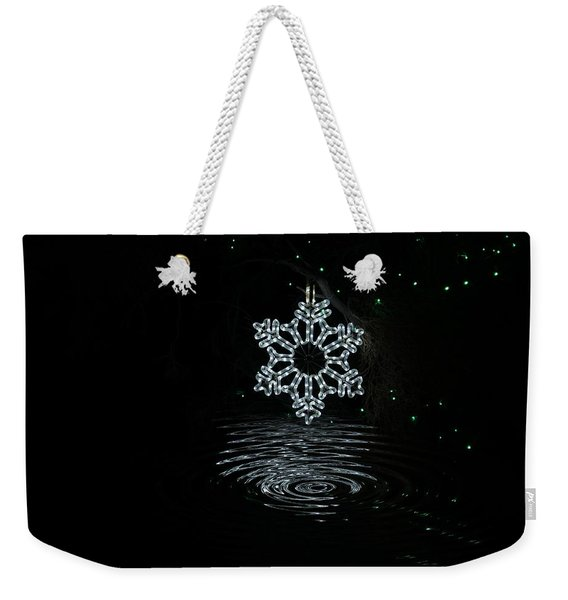 A Ripple Of Christmas Cheer Weekender Tote Bag