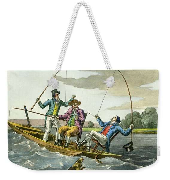 A Sharp Bite Weekender Tote Bag