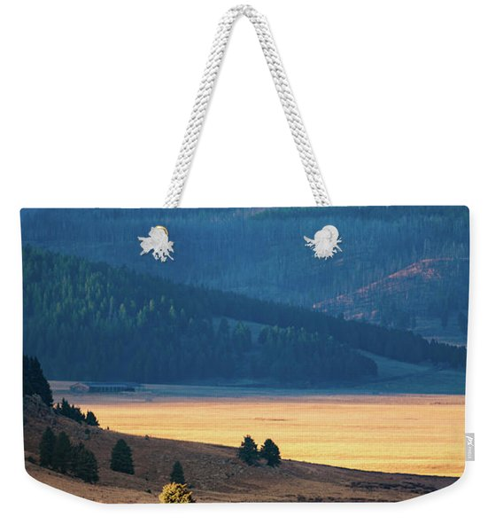 A Slice Of Caldera Weekender Tote Bag