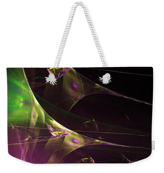 A Space Aurora Weekender Tote Bag